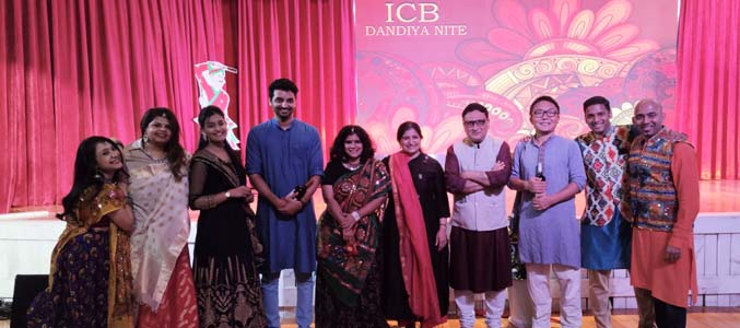Dandia Nite at the SVCC, auditorium organized by Indian Community in Beijing(ICB)